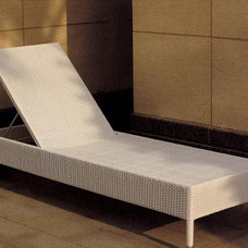 Contemporary Outdoor Chaise Lounges by Iris Furniture