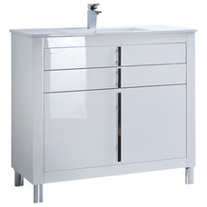 Contemporary Bathroom Vanities And Sink Consoles by Macral Design Corp