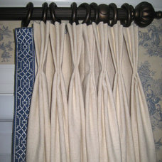 Traditional Curtains by Drapery Design