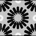 Casart coverings - Spinwheel, Black/Grey/White Wallcoverings, Black/Grey/White, Stair Riser (2 Sq F - Add some Marrakesh style to your home dcor with this Moroccan-inspired collection of faux tile patterns.