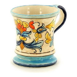 Artistica - Hand Made in Italy - Rinascimento: Mug - The Rinascimento is an exclusive design for Artistica by the Umbrian renown artist Rale of Opera Nova.