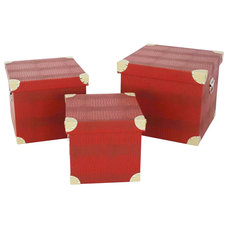 modern storage boxes by Screen Gems Furniture Accessories