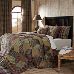 Jackson Quilted Bedding - VHC Brands