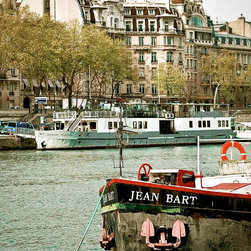 Jean Bart On The Seine-Paris France, Fine Art Photography Print, 12X18 - Jean Bart on the Seine.