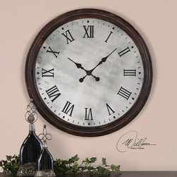 "6889 Marshall, Clock by Uttermost - Get 10% discount on your first order. Coupon code: ""houzz"". Order today."