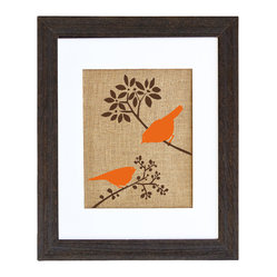 Autumn Birds Art