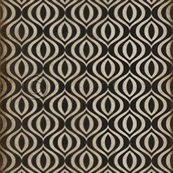 Decorative vinyl floor cloths - These wonderful designs are printed on durable, certified non-slip, lay flat, vinyl flooring that may be used indoors or outdoors. Use them in kitchens, hallways, entry areas, game rooms, basements, patios, decks, any high traffic area where you need some decorative, durable flooring. It's an easy way to add some pizzazz to the room and floor! They are designed to look vintage, so they will have a distressing in the design. They're also available in rolls up to 8 feet wide and can be glued to the floor.  For more information please contact the store at 617-591-0549 or info@puravidahomedecor.com.  As this product is made-to-order, please allow 3-4 weeks delivery.