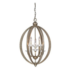Brian Thomas - Brian Thomas Forum Transitional Pendant Light X-221-6-3551-3 - This utterly beautiful foyer pendant light glistens like a diamond courtesy of the lustrous gold dust finish. K9 crystals sparkle and shine beneath six 60W candelabra base lights that provide a brilliant quality of ambient lighting. A wonderful addition to any home.