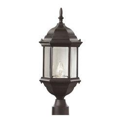 Trans Globe Lighting - Trans Globe Lighting 4352 Single Light Up Lighting Hexagon Outdoor Post Light fr - Product Features: