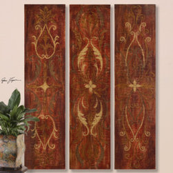 "32160 Elegant Panels, S/3 by uttermost - Get 10% discount on your first order. Coupon code: ""houzz"". Order today."