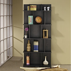 Zev Wood Bookcase and Display Stand