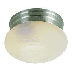 Trans Globe Lighting - Trans Globe Lighting 3619 BN Flushmount In Brushed Nickel - Part Number: 3619 BN