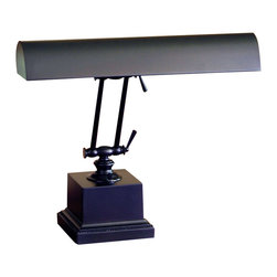 """House Of Troy - House Of Troy 14"""" Transitional Piano/Desk Lamp X-18-202-41P - Double adjustment arm piano lamp with 9 foot brown cord. Shade swivels to direct light."""