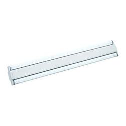 AFX - SM Series White 18-Inch Two-Light Energy Star Flush Fluorescent - Side Mount Strip Light. 1 lamp top and side mount striplight. Rugged steel chassis with baked white enamel finish. AFX - SM215R8