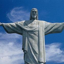 Magic Murals - Christ the Redeemer Brazil Wallpaper Wall Mural - Self-Adhesive - Multiple Sizes - Christ the Redeemer Brazil Wall Mural