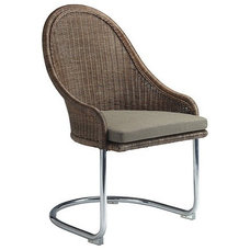 Eclectic Dining Chairs by McGuire Furniture Company
