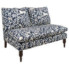 Transitional Love Seats by Walter E. Smithe Furniture Inc/The Mark
