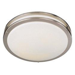 "Minka Lavery - Minka Lavery ML 860-PL 1 Light 16.25"" Width Fluorescent Flush Mount Ceiling Fixt - Single Light 16.25"" Width Fluorescent Flush Mount Ceiling FixtureFeatures:"
