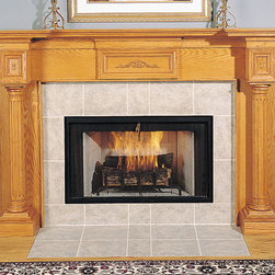 Regency Wood Fireplace Mantel - Available in a variety of woods, stains and paints, the Regency wood fireplace mantel will create a stunning focal point in a living space.