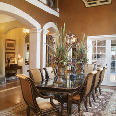 mediterranean dining room by Focal Point Interiors Plus