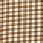 """Close to Custom Linens - 16"""" x 16"""" Pillow Suede Brown Gingham Check - A charming traditional gingham check in suede brown on a cream background. The square pillow is 16 inches x 16 inches and has self-covered cording trim that adds the finishing touch."""