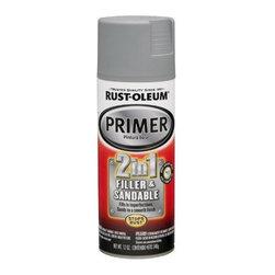RUSTOLEUM BRANDS - 260510 12oz Filler and Primer - 2 in 1 Filler and Sandable Primer