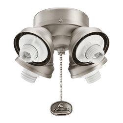 Kichler - Kichler 350011AP 4 Light Turtle Fixture - Kichler 350011AP 4 Light Turtle Fitter