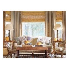 traditional window treatments by Distinctive Window Designs