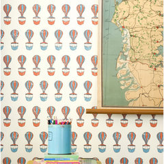 contemporary wallpaper by Wayfair