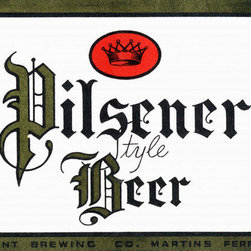 Buyenlarge - Pilsener Style Beer 28x42 Giclee on Canvas - Series: Beer