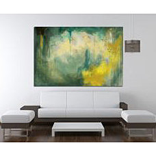 Maxwell Dickson Serenity Abstract Canvas Wall Art | Overstock.com