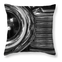 Motorcyle pillow - Soft and durable polyester fabric gets a whimsical touch with this close up of chrome pipe of a Harley motorcycle.  Perfect for a man cave.
