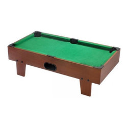 """32"""" Table Top Billiards / Pool Game Table - -Great for kids' rooms, dorm rooms, and on-the-go!"""