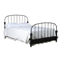 Corsican - Custom Cove Bed, Queen - Corsican has been in business over 40 years. Their entire focus is making wrought iron furniture. Many of their skilled craftsman are second generation.