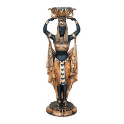 Egyptian Female Plant Holder, 6FT -