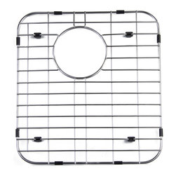ALFI - ALFI Right Solid Stainless Steel Kitchen Sink Grid, GR512R - Protect your investment with this solid stainless steel grid that sits on the bottom of your fireclay sink. Protects the sink from nicks or cracks caused by heavy pots or pans dropped in, reduces the need for cleaning marks or stains of the bottom of the sink.