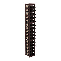Wine Racks America - 2 Column Magnum/Champagne Cellar Kit in Redwood, Walnut - Easy to expand or add to an existing cellar, this Magnum wine racking kit is designed for ultimate flexibility. Our specialized magnum rack accommodates 2 whole cases of abnormally shaped bottles, and then some! We promise this rack will stand up to the test of time.
