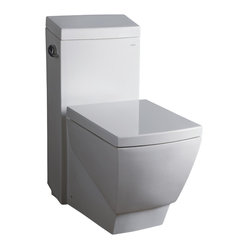 Ariel Bath - Ariel Platinum Aphrodite Contemporary Toilet - Ariel cutting-edge designed one-piece toilets with powerful flushing system. Its a beautiful, modern toilet for your contemporary bathroom remodel.