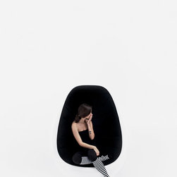 Scandinavian Furniture - Stunning egg-shaped chair from Finland. Scandinavian furniture at its very best. Available from Wharfside luxury furniture - London and Surrey.