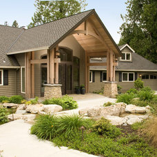 Traditional Exterior by eric gedney   ARCHITECT