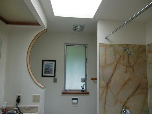 My Mid Century Modern Beach House Master Bath Needs Help