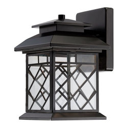 "Designers Fountain - Designers Fountain Woodmere 8.5"" LED Transitional Outdoor Wall Sconce X-BRO-1332 - Designers Fountain Woodmere 8.5"" LED Transitional Outdoor Wall Sconce X-BRO-13322DEL"