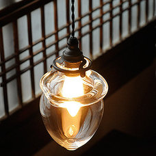 Hand-blown Glass Lamp by Sゝゝ - Analogue Life