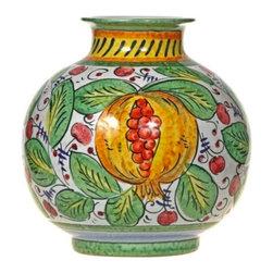 Ceramic - Italian Fruit Ceramic Vase - Italian Fruit Ceramic Vase