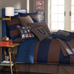 "Legacy Home Full Striped Duvet Cover, 86"" x 86"""