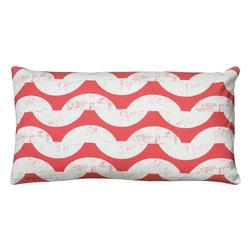 """Rizzy - Rizzy T06084 Pillow, 11"""" x 21"""" - Pillow with Hidden Zipper"""