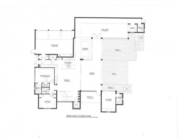 Traditional Floor Plan by Phil Kean Designs