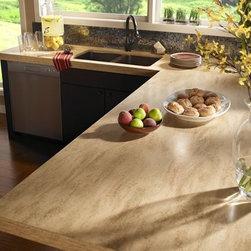 Corian® Hickory Smoke countertop. - Photo by DuPont