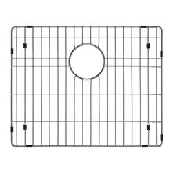 Ukinox - Ukinox GRS558SS Stainless Steel Bottom Grid - Extend the life of your sink with Ukinox's custom fit stainless steel sink grid. Sleek and durable, this grid is designed for high volume residential kitchen usage. Features: Protects the bottom of your sink from scratches. Makes sink easier to clean. Great for drying glasses. Great for rinsing vegetables. Great for thawing meats.  Specifications: Total Product Length: 20 in. Total Product Width: 16 in. Total Product Thickness: 1 in. Product Weight: 1 lbs. Material: Stainless Steel.