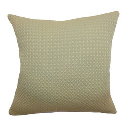 Pillow Collection Inc - The Pillow Collection Helm Quilted Pillow - Beige Multicolor - PF18-MVT-1116-BEI - Shop for Pillows from Hayneedle.com! Soft and subtle The Pillow Collection Helm Quilted Pillow Beige is perfect for a variety of decor styles. This pillow features a cover made of 100-percent cotton and a quilted design that adds a touch of texture to any chair sofa or loveseat. Its 95/5 feather/down fill insert is cozy and comfortable in any setting. Dry clean only.About The Pillow CollectionIdentical twin brothers Adam and Kyle started The Pillow Collection with a simple objective. They wanted to create an extensive selection of beautiful and affordable throw pillows. Their father is a renowned interior designer and they developed a deep appreciation of style from him. They hand select all fabrics to find the perfect cottons linens damasks and silks in a variety of colors patterns and designs. Standard features include hidden full-length zippers and luxurious high polyester fiber or down blended inserts. At The Pillow Collection they know that a throw pillow makes a room.